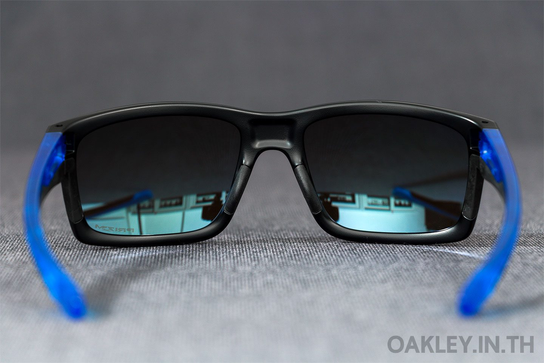 003a4235dd5e0 OAKLEY MAINLINK Sapphire Fade Collection Matte Black Sapphire Prizm  Sapphire Polarized