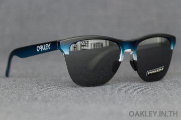 8add64579e OAKLEY FROGSKINS LITE Splatter Fade Collection Black Teal Fade Silver Prizm  Black Iridium