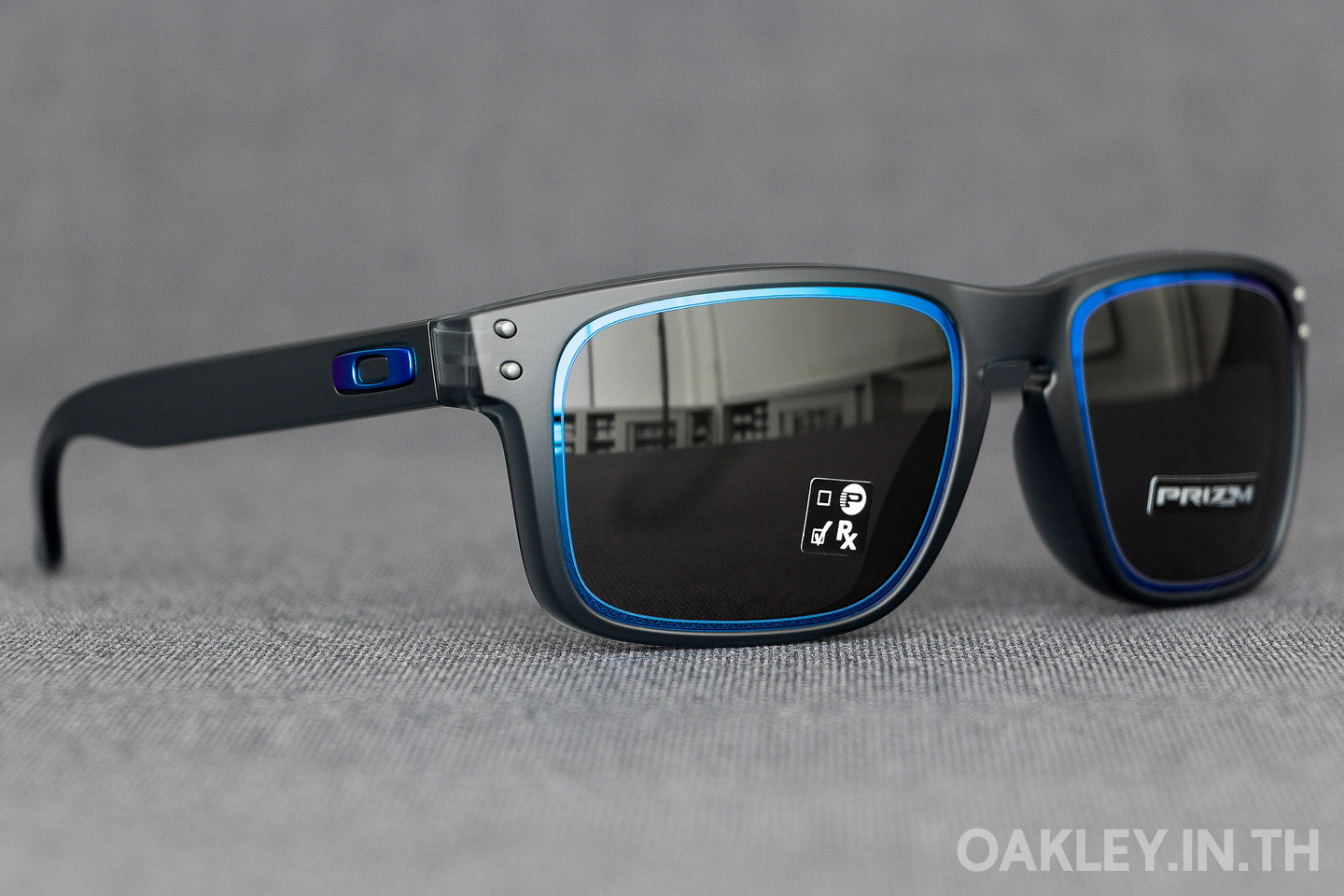 d40929193e OAKLEY HOLBROOK (Asian Fit) Fire and Ice Collection Matte Crystal Black  Prizm Grey